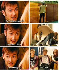Ten and Eleven. Sometimes you can tell they are still the same man, and I love those moments.