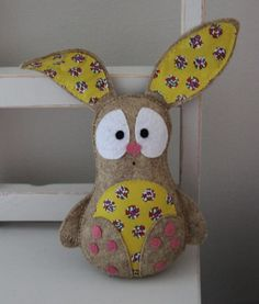Felt rabbit toy, cute