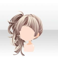 SWEET♥Package|@games -アットゲームズ- Pelo Anime, Chibi Hair, Manga Hair, Estilo Anime, Fantasy Hair, Character Design Animation, Manga Drawing, Drawing Tips, How To Draw Hair