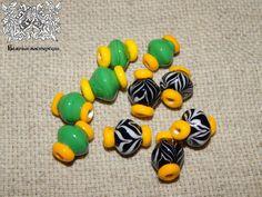 Glass beads, Zvenigorod 13th A.D.