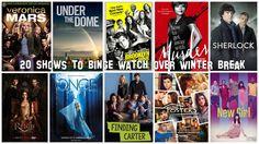 20 Shows to Binge Watch of Winter Break