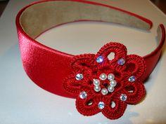 cerchietto rosso by saragioielli, via Flickr