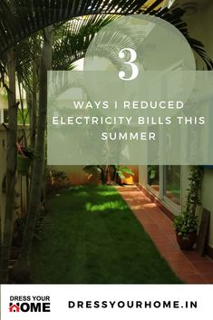 3 proven ways to reduce your electricity bill this summer Electricity Consumption, Ficus, Terrace Floor, Roof Paint, Sweet Home, One Summer, Concrete Blocks, Indian Home Decor, Home