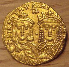 Las monedas del Imperio Bizantino: la cruel emperatriz Irene | Numismatica Visual