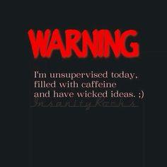 warning...
