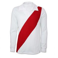 b421a4501 River Plate voetbalshirt jaren  60 Dit shirt werd gedragen door voetballers  van de Argentijnse club