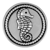 Silver Seahorse Snap