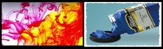 Colored inks can bring profound effects on your art work.