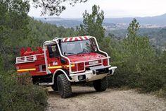 Unimog wildlands firetruck