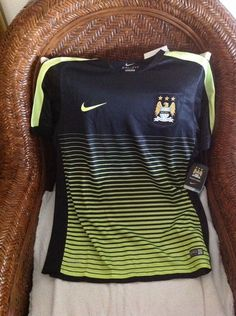 Nike Authentic Manchester City Soccer training jersey NWT Size L Men s in  Sports Mem 22185ce99