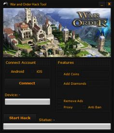 War and Order Hack Tool Cheats Download