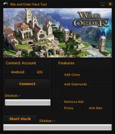 War and Order Hack Tool Cheats Download