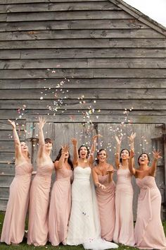 A Must Have Photo With Your Bridesmaids | bridesmaid  | | bridesmaid dresses | #bridesmaid #bridesmaiddresses   http://www.roughluxejewelry.com/