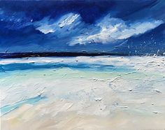 Original painting, sea abstract art, beach art, minimalist, abstract beach art, ocean, and beach, seascape acrylic art. Original watercolor/acrylic He Calms My Soul on canvas. CANVAS SIZE: 16 x 20 acrylic on canvas. ACRYLIC COLORS: Cerulean blue, Teal, gray, green/blue, beige, and white.