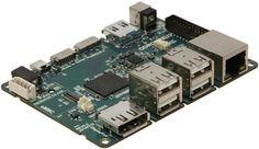 Odroid-XU3 (180$)  Samsung Exynos5422 Cortex™-A15 2.0Ghz quad core and Cortex™-A7 quad core CPUs