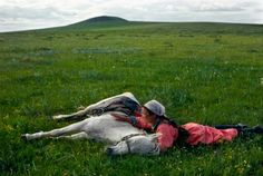 Mongolia. This photograph was probably taken by Eve Arnold. :)