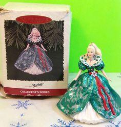 Collectible 1995 Holiday Barbie Hallmark Keepsake Ornament