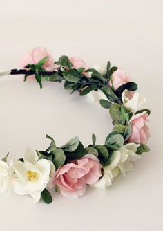 Sweet Spring Floral Crown Flower Crown Bridal