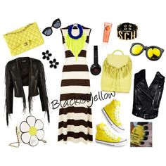 Black&Yellow Rock but Chic