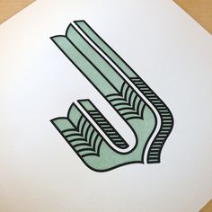 Jessica Hische's ridiculously lovely letterpressed alphabet.
