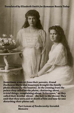 Memories of the Romanovs...