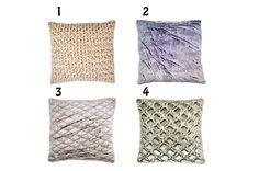 Grey pillowpurple pillowwhite pillowMIX & MATCH by BrahmaCreation