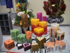 velas decorativas  - Pesquisa Google