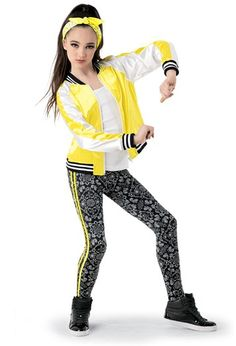 Weissman® | Satin Jacket and Paisley Leggings