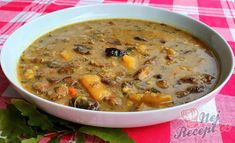 Czech Recipes, Bon Appetit, Cheeseburger Chowder, Food And Drink, Cooking, Kitchen, Invite, Soups, Fashion