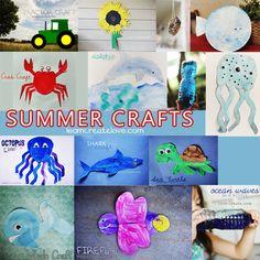 { Summer Crafts Compilation }