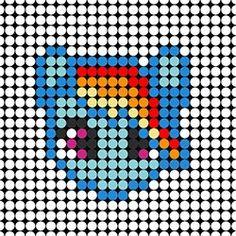 Rainbow Dash Template