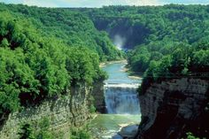 Beautiful Letchworth State Park, in Pennsylvania...most beautiful place we ever camped in.