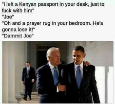 Vice President 'Uncle' Joe Biden Planning a 'Welcome' for the President-Elect Tr....*ugh* I can't even type/say it.