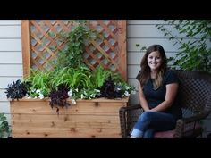 How to Build a Privacy Planter - This Old House - YouTube
