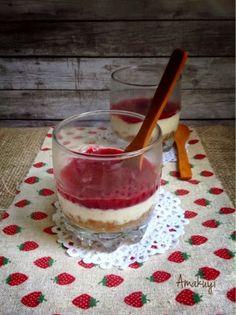 Tarta de Queso en Vaso | Cocinar en casa es facilisimo.com