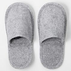 *無印良品 MUJI travel slippers