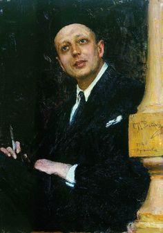 Портрет поэта Войнова. 1923–1926. Илья Ефимович Репин