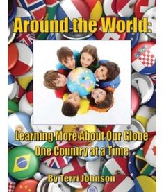 around the world printable book
