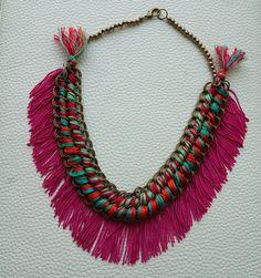 Nuevo Collar en Fruto Samore!!! Bohemian Necklace   Fruto Samore