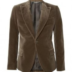 Modern Men Autumn/Winter 2012 Style Choices (2): Single Button Blazer/Suits To Improve Relaxed Formalwear Styles