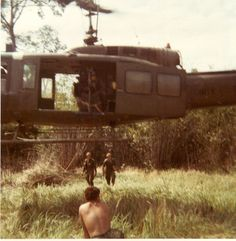 Bell UH-1 Huey with 8th Cavalry Regiment troops