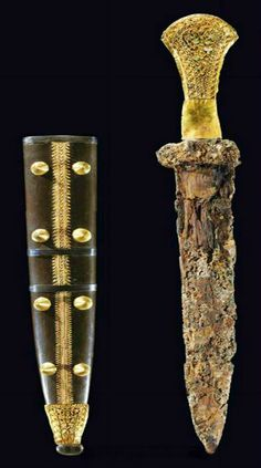 Mycenae Swords and Daggers. Ancient Greek Mythology