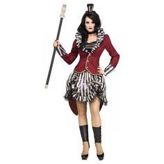 Ringmaster-Costume-Adult-Female-Scary-Freak-Show-Halloween-Fancy-Dress