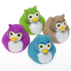 Shop for Owl Rubber Ducks, Ducks, Rubber Ducks. Plus tons of other stunning Ducks party supplies, favors, and decorations.
