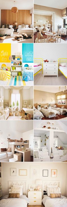Many families have two or more kids and if there isn't enough space to give each one of them a separate room, it's probably a good idea to design a shared room.  When creativity comes in, you won't have to compromise style for limited space.  Here are some ideas to help you find what storage …