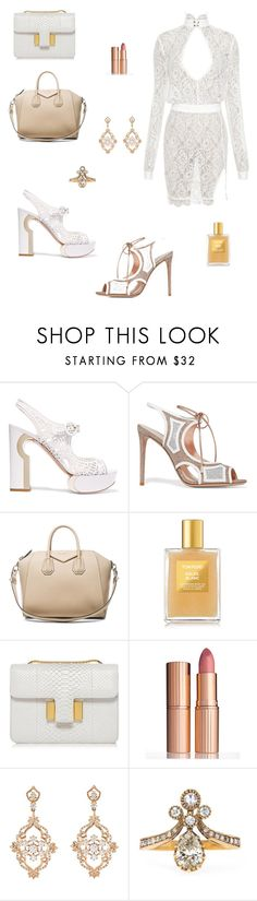 """Special events"" by abeckhamc ❤ liked on Polyvore featuring Amaury, Nicholas Kirkwood, Givenchy, Tom Ford, Charlotte Tilbury and Sara Weinstock"