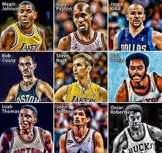 NBA greats !! Nba Sports, Sports Pictures, Basketball Is Life, Basketball Players, Oscar Robertson, John Thomas, Nba Wallpapers, 4 Life, Kobe