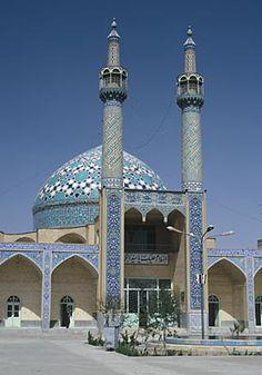 Jameh Mosque of Yazd, Iran