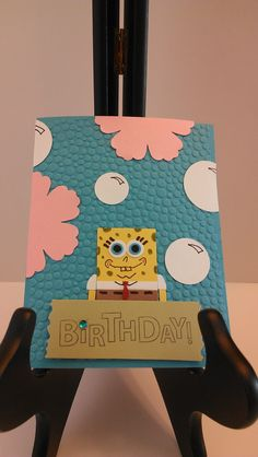 Order Now!!! Sponge Bob Birthday Invitations Custom Order by justbeecuzcards, $20.00 for a Set of 10