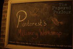 Pinterest's Millinery Workshop